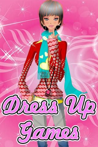 Red shoes dress up games