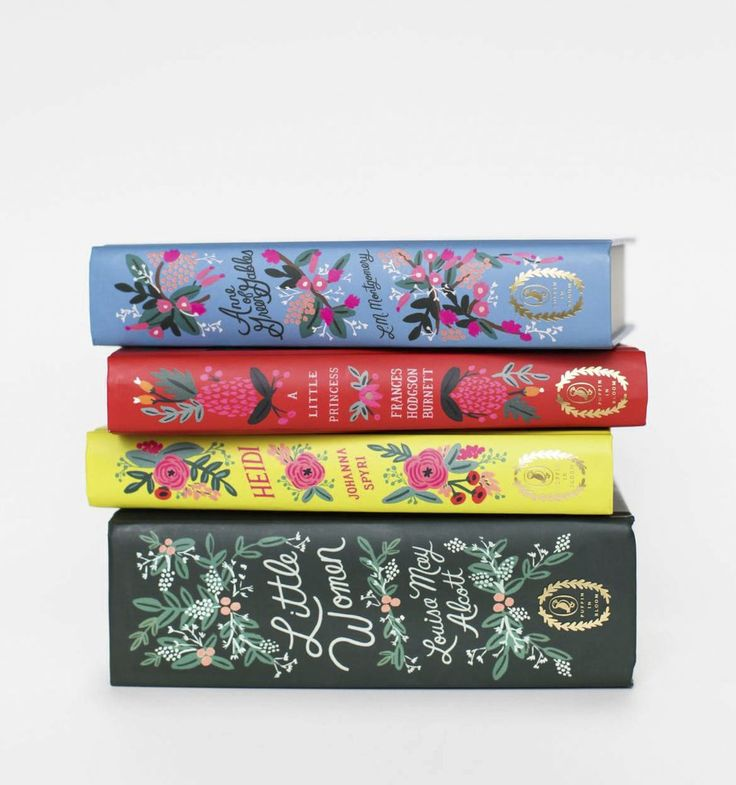 Puffin in Bloom. A penguin classic with a gorgeously illustrated cover by Anna Bond. Illustrated endpapers and gold foil title.