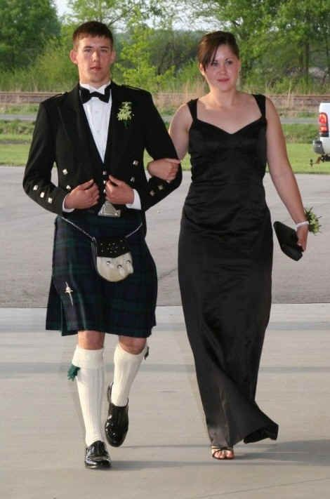 This is very similar to the kilt and Clan Tartan McGhee will be wearing... I cannot believe there will be kilts!