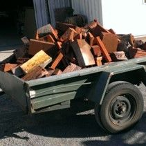 Firewood for sale to fit 6 x 4 Trailer – only $100 NO Bark, Rot or Charcoal. Clean wood ready to burn jarrah mill ends and bush wood, all wood is dry, seasoned and pre-split convenient size to fit your average size firebox.  Redgum mill ends also available at $50 a bin load (fits 6 x 4 trailer), byo trailer. Call Lerlene on Monday for good quality, firewood for sale, ring West Coast Timbers on 9720 2561.