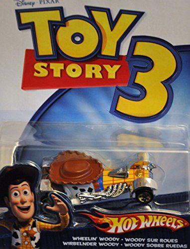 Hot Wheels Disney Toy Story 3 Vehicle - Wheelin Woody @ niftywarehouse.com #NiftyWarehouse #Toy #Story #Movie #ToyStory #Pixar
