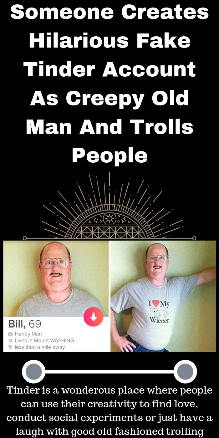 Bill The Handyman' Tinder Profile Is Epic And Someone Posted