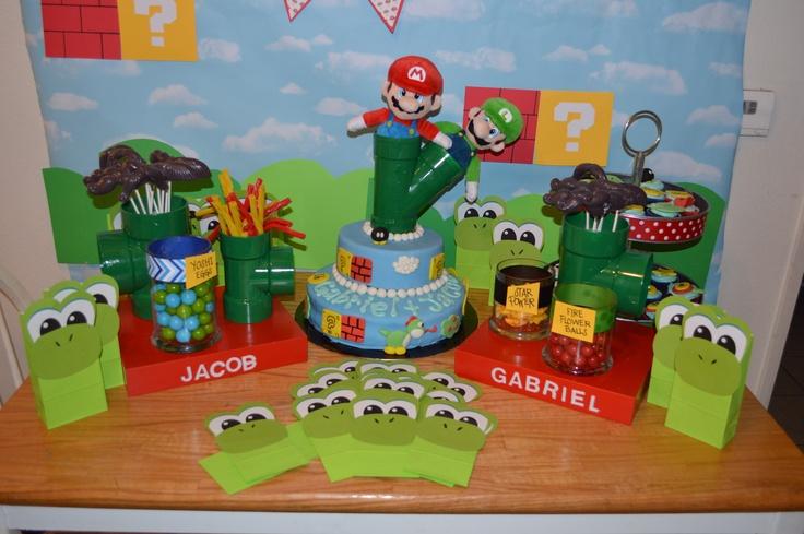 Super Mario Bro Candy Table Email Leilahscupcake Yahoo Com