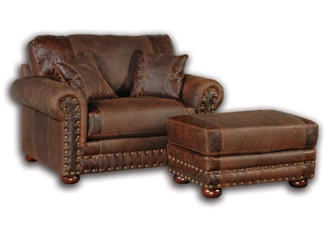 Oversized Leather Couches Big Sky Collection Jesse