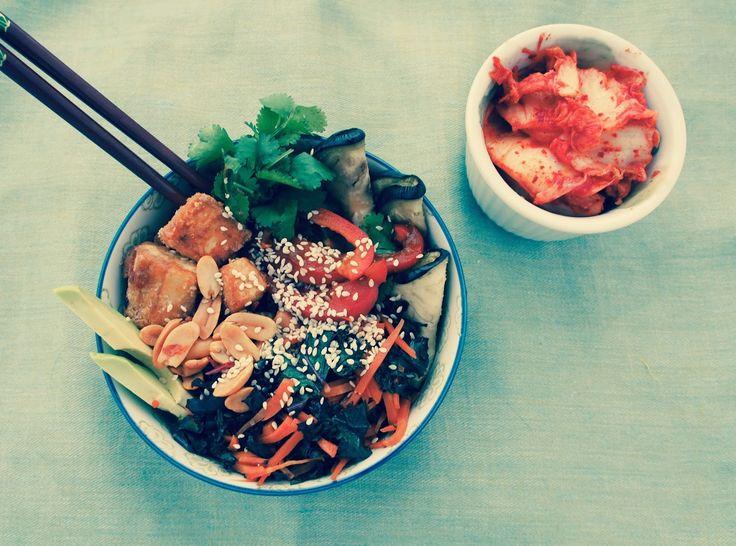 Korean-Inspired Rice Bowl