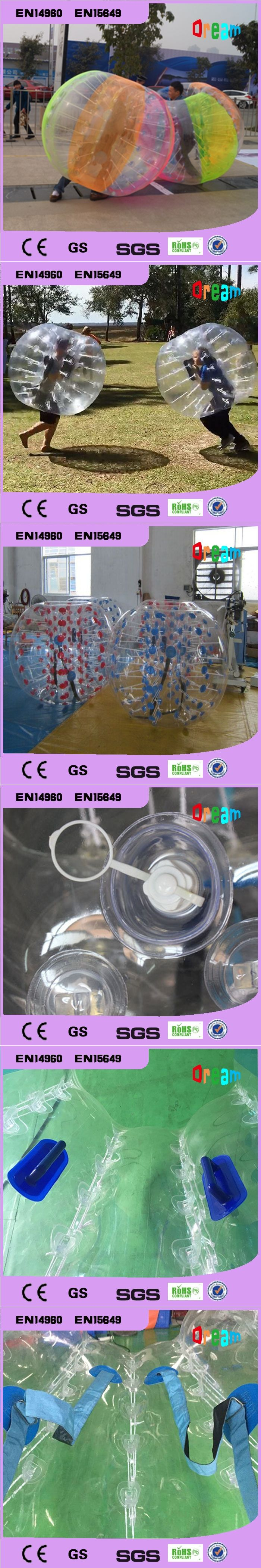 Free Shipping 1.5m Hot Sale Inflatable Football Suit Inflatable Zorb Bumper Ball Bubble Soccer Ball Body Zorb Ball Bubble Ball