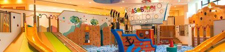 Asobono - an indoor play space by Tokyo Dome.  I've seen it from the outside but never gone in...