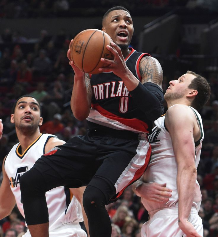 Photo              Portland guard Damian Lillard, on his way to 59 points, drove between the Utah Jazz's Trey Lyles, left, and Joe Ingles on Saturday.                                      Credit             Steve Dykes/Associated Press                      PORTLAND, Ore. — Moments after...  http://usa.swengen.com/damian-lillard-breaks-a-trail-blazers-record-with-59-points/