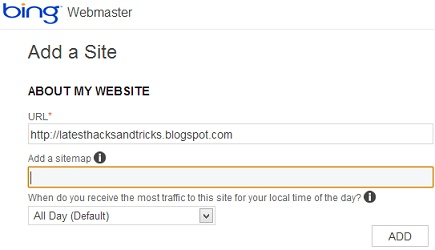 how to add sitemap to bing and yahoo - the easy way