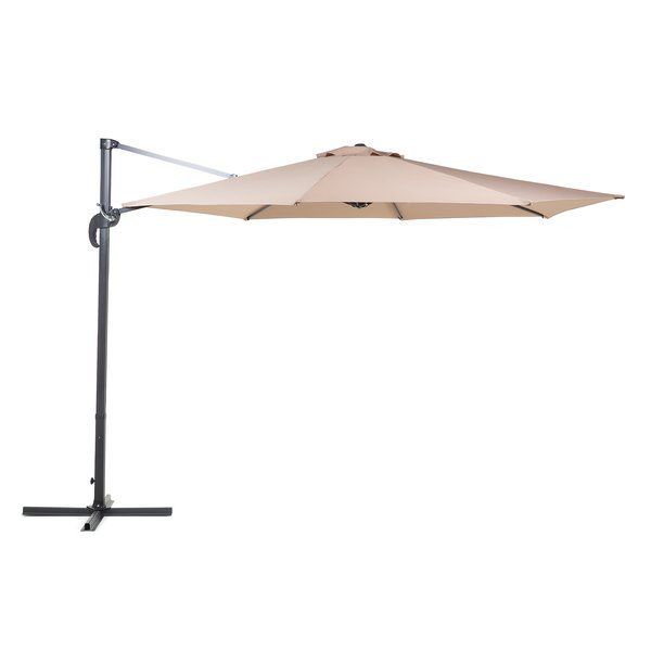 Best Comfortable Solarte 11 Cantilever Umbrella By Bay Isle Home Furniture Patiofu With Images Umbrella Lights Patio Umbrella Lights Cantilever Patio Umbrella