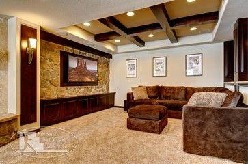Luxury Finished Basement Company Denver