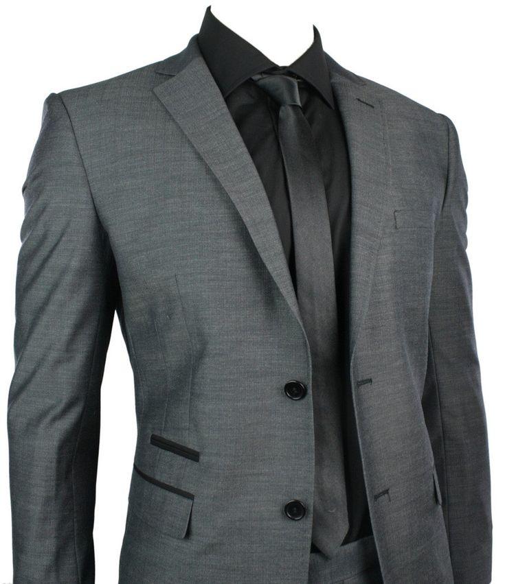 charcoal suit - Buscar con Google
