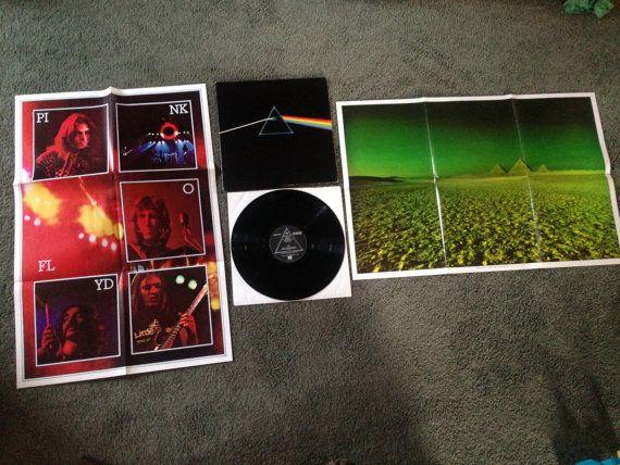 RARE Vintage Pink Floyd  Dark Side Of The Moon by sweetleafvinyl