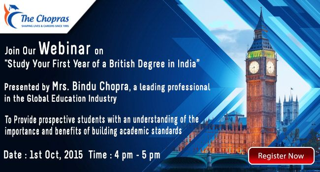 Desire to Study in UK University? Guaranteed Admission in one of 11 NCUK Universities! Attend Webinar by Mrs. Bindu Chopras. Register @ https://attendee.gotowebinar.com/register/6460305183266086913   #webinar  #ncuk