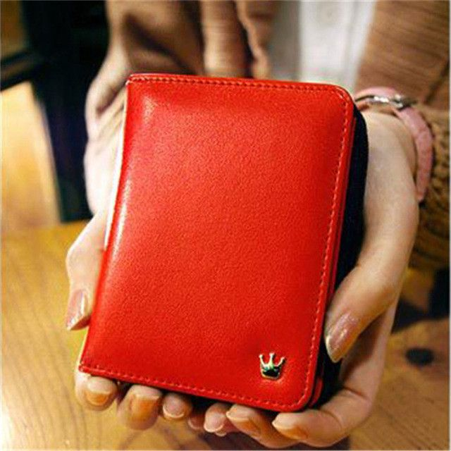 2017 Women Purse Short Wallet Clutch Lovely Vintage Ladies Handbag Hot Sale Fashion Clutch Card Holder Gift