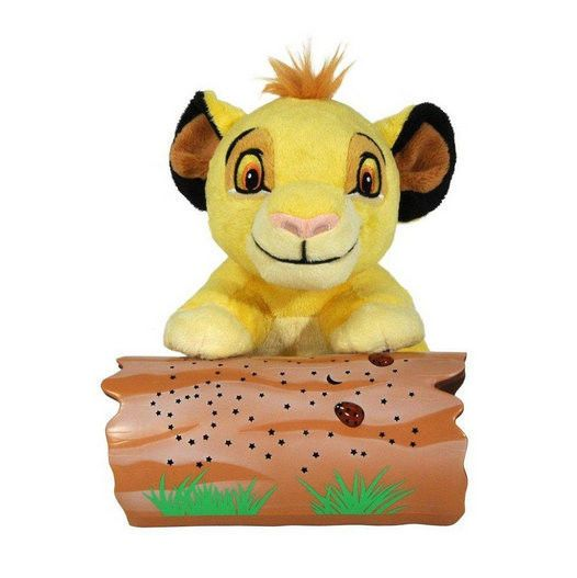 Disney Lion King Baby Simba Cloud B Dreamy Stars Night Light Soother Plush NEW #Disney