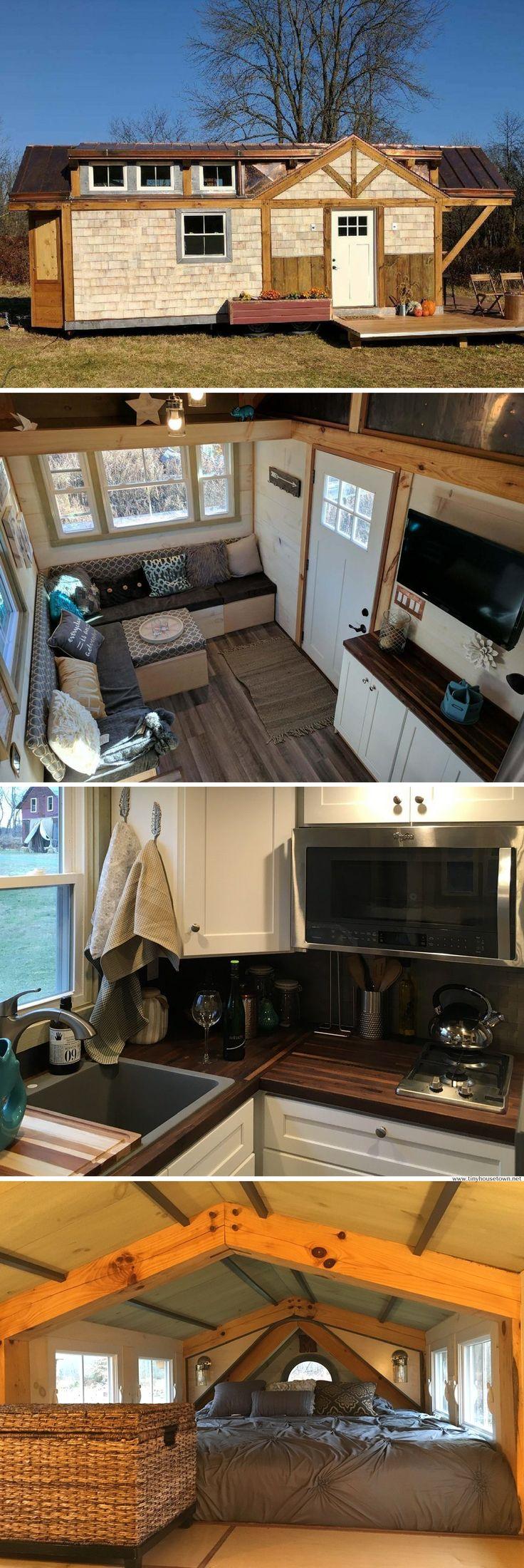 A luxury 320 sq ft tiny house available for sale in Hopewell, NJ