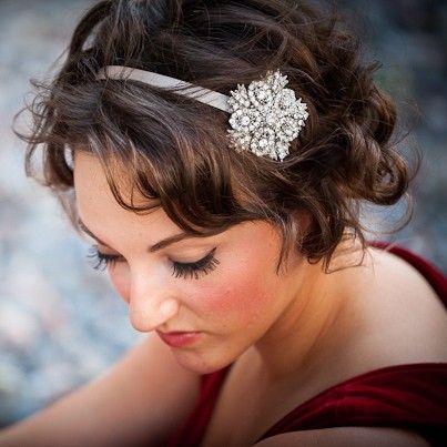 Valentines Day Crystal Headband  Bridal or by bethanylorelle, $78.00