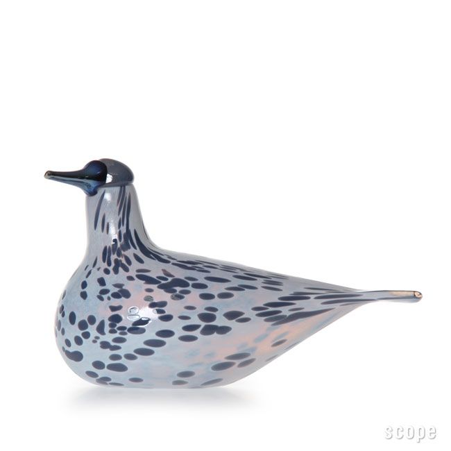 iittala Birds by Oiva Toikka Mistle Thrush. Annual Bird 2013.