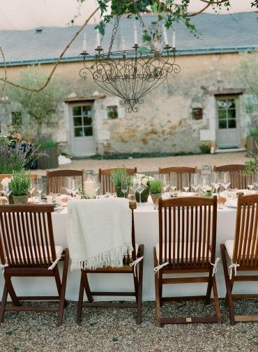 French country dining...