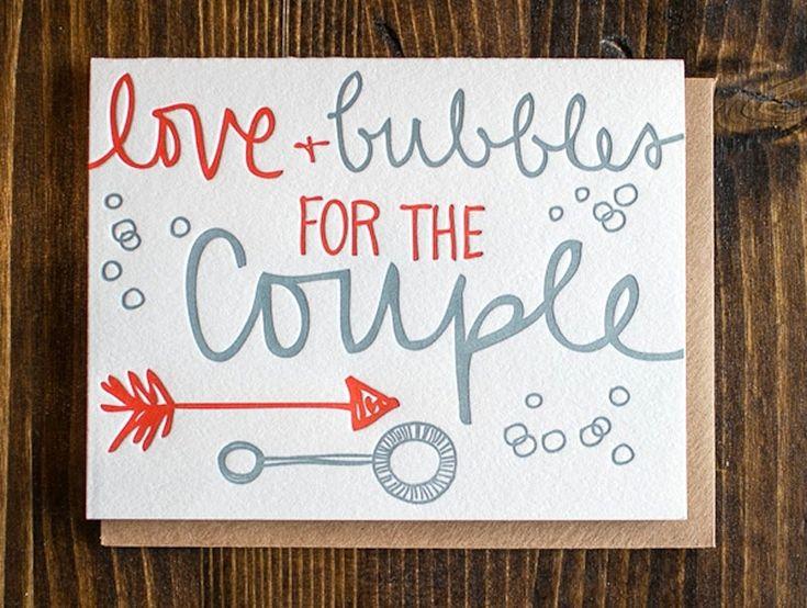 carte félicitation mariage avec inscription en relief taquine
