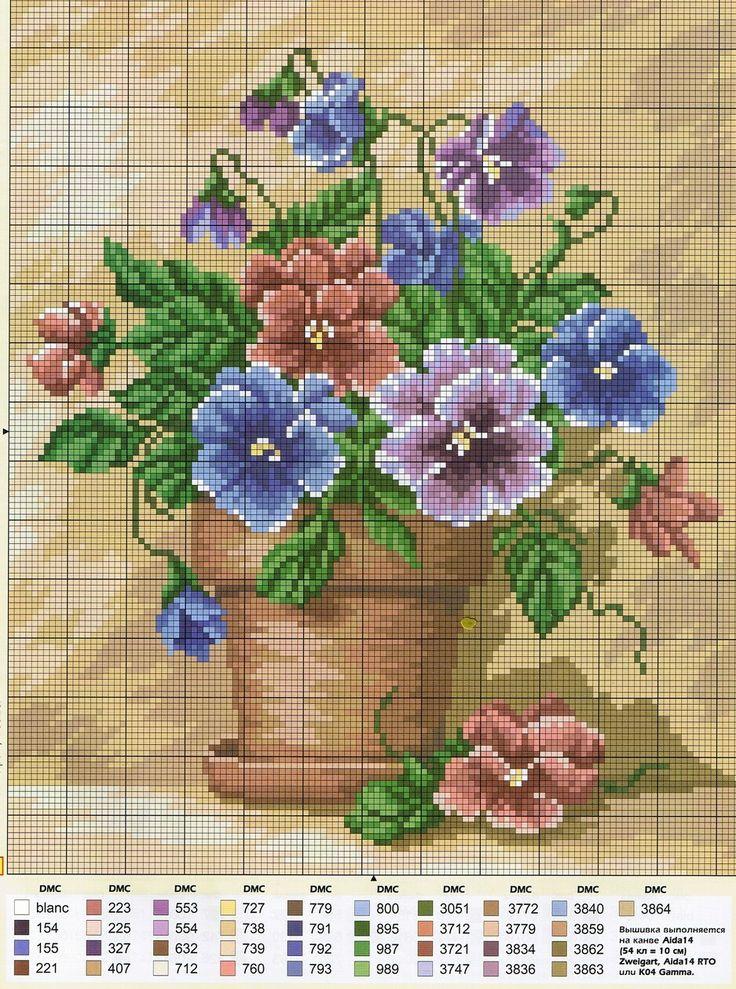 503 best fleure point de croix images on pinterest cross stitch flowers punto croce and cross. Black Bedroom Furniture Sets. Home Design Ideas