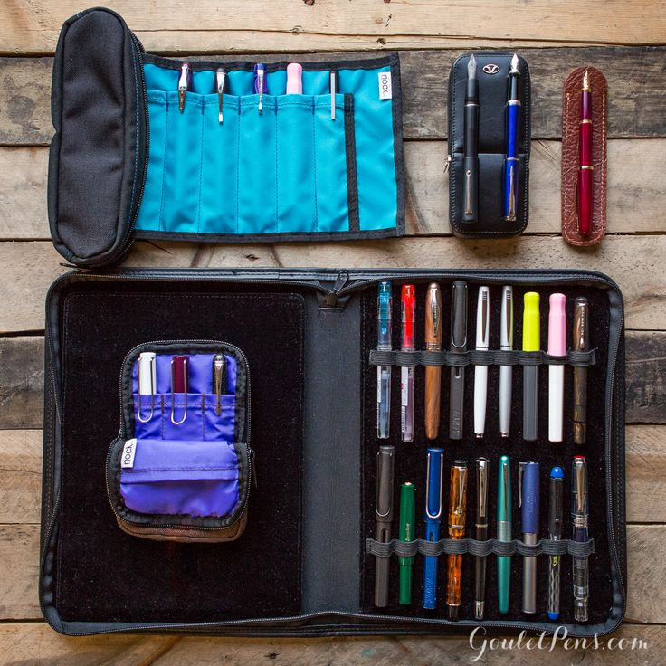 Goulet Pens Blog: Thursday Things: Everything in Its Place