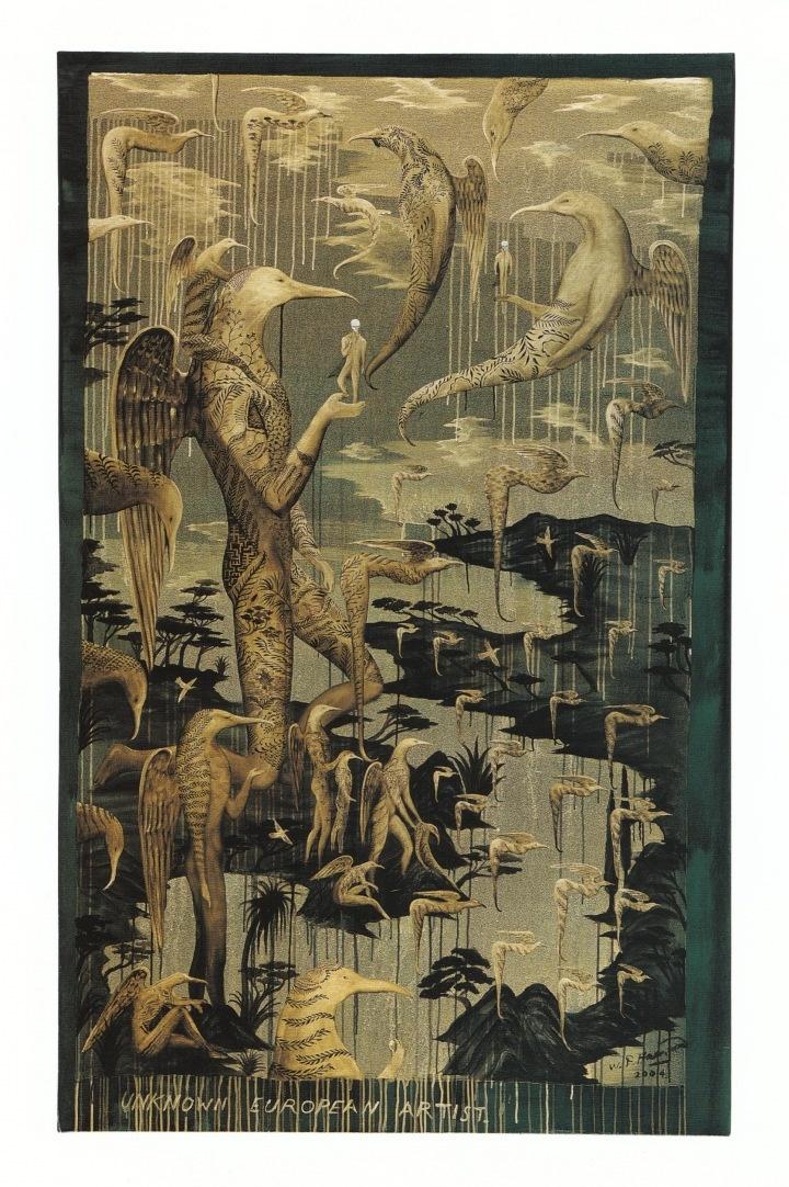 New Zealand Artist - Bill Hammond