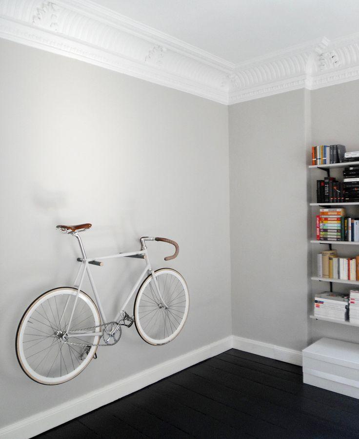 wooden bike hook, minimal and simple. €65.00, via Etsy.