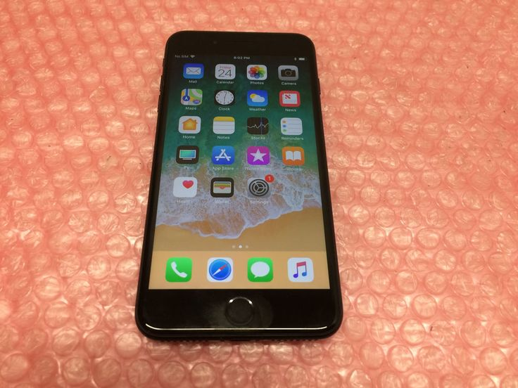 Apple iPhone 7 Plus 256GB Space Gray AT&T Smartphone MN5Y2LL/A A1661 Tested