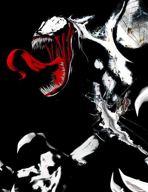 Venom Movie Comic Book Art - DigitalEntertainmentReview.com
