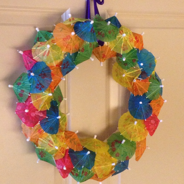 Grandma And I Made This Wreath Today To Put On Her Door In The Nursing Home Senior CraftsCraft ActivitiesActivity IdeasSpring