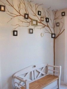 Tree Decorating Walls With Hand Painting Results