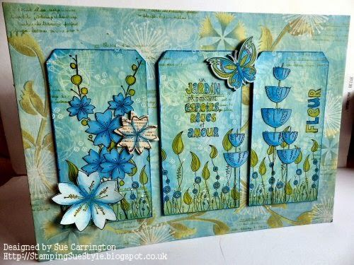 Stamps and Stencils : Three of a Kind