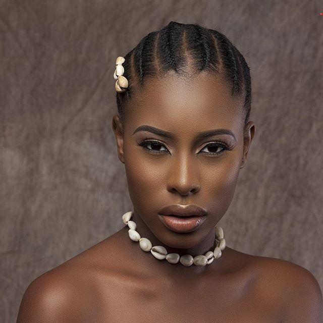 Village ebony girl