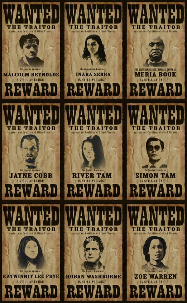 Best 25+ Firefly cast ideas on Pinterest The frog prince - create a wanted poster free