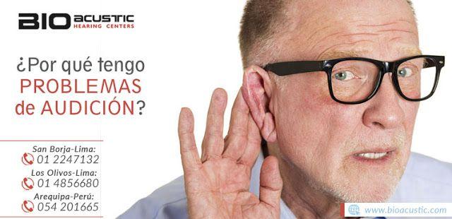 Audifonos para Sordera: ¿Por qué tengo problemas de audición?