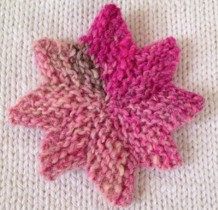 Knitting Pattern Christmas Star : 8-point star knitting pattern Knit Pinterest Knitting patterns, Knittin...
