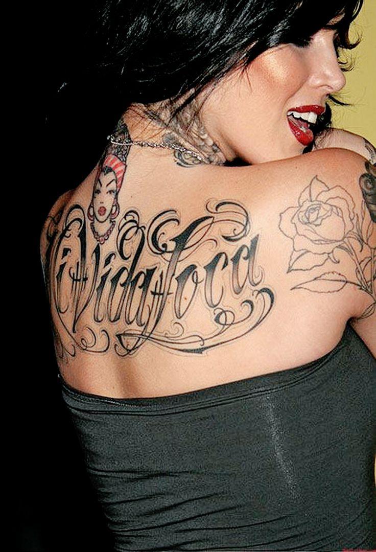 Da da danielle colby cushman tattoos - Mi Vida Loca Love Kat Von D This Tattoo