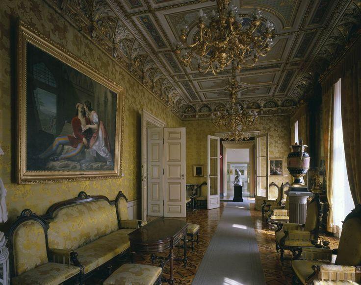Museo Revoltella, Trieste - Salotto giallo di Palazzo Revoltella