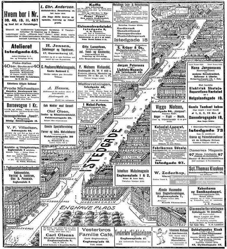 Istedgade 1912