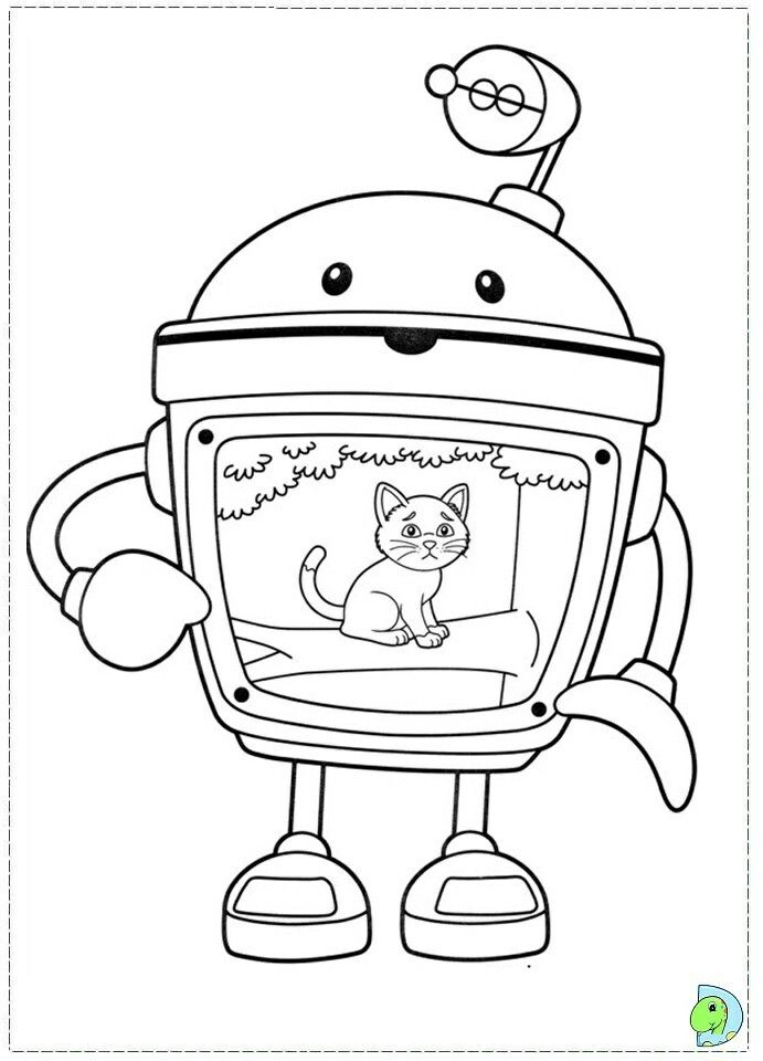 Pin By Renata On Inne Kolorowanki Monster Coloring Pages Team Umizoomi Zoo Animal Coloring Pages