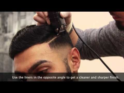 HD BARBER TUTORIAL EP.1 - Bald fade | combover | parting - BARBERVINNY UK - YouTube
