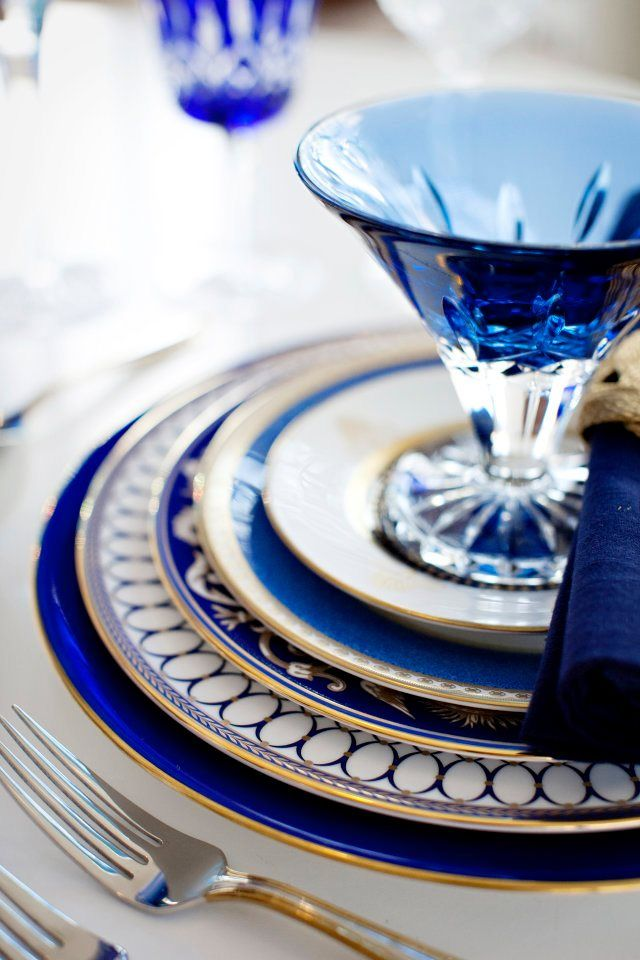 This is a gorgeous dinner service. I would love to know the brand?  It all looks so beautiful together and the divine glass dessert dish gives it the final touch. Love, love it. JH