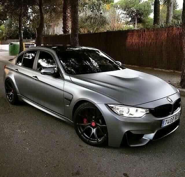 BMW F80 M3 frozen grey