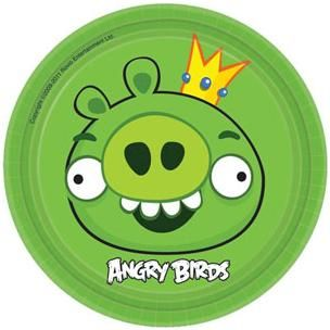 A543710 - Angry Birds Plates 18cm Please note: approx. 14 day delivery time. www.facebook.com/popitinaboxbusiness