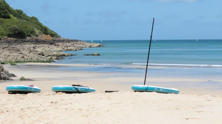 All ready to go, the anticipation of an amazing trip in all those shades of blue. This is shot at Carbis Bay.