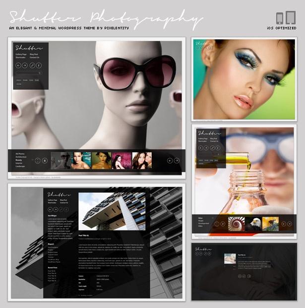 Shutter - Elegant Photography Theme for WordPress