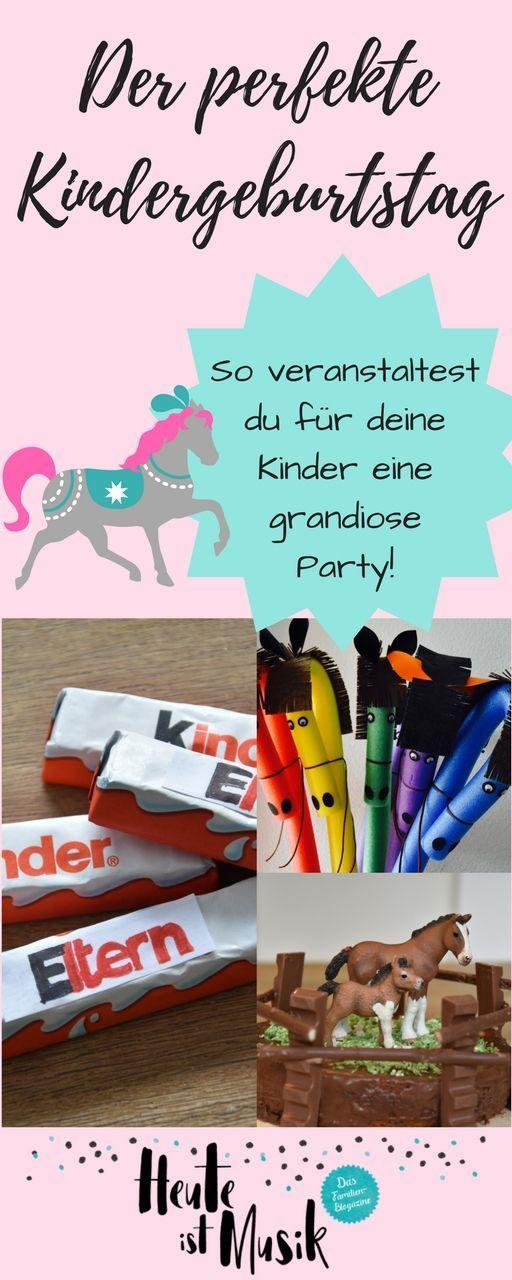 (Anzeige) Der perfekte Pferdegeburtstag mit Ferrero kinder Schokolade – Kindergeburtstag und Kindermottoparty Ideen