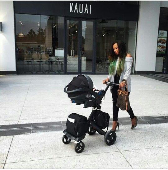 DJ Zinhle & Baby Kairo